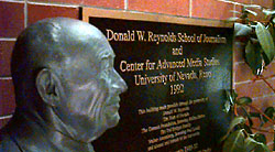 Bust of Don Reynolds